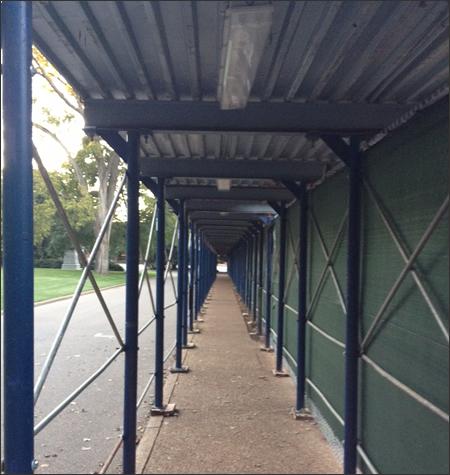 Pedestrian Canopy Scaffold Systems Orlando