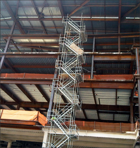 Stair Tower Scaffold Systems Orlando